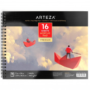 Arteza Acrylic Pad 28cm X 36cm Paper Pad