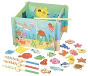Vilac Vilac4356 Magnetic Ocean Fishing Box