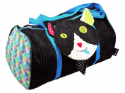 Les Deglingos Soft Toy, Weekend Bag, Cat