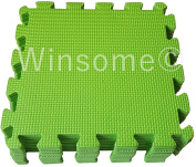 Winsome® 10Pc Kids Play Soft Puzzle Mat Foam Interlocking Floor Protector Crawling Pray Tumbler Gym Picnic Indoor & Outdoor