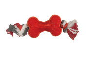Ethical Products Spot Play Strong Bone with Rope Mini 8.9cm Super Durable