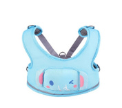 Hollwald 3-in-1 Toddler Cartoon Animal Walking Safety Harness Toddler Reins Leash Baby Walking Wings Learning To Walk Assistant