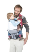 MHUG Mei Tai baby carrier, ergonomic and patented. 100% Made in Italy, Japan