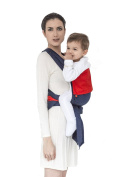 MHUG Mei Tai baby carrier, ergonomic and patented. 100% Made in Italy, Yankee