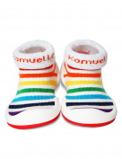 KOMUELLO Baby Boys Girls First Walking Shoes