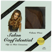 Salon Confidential Volume Wave Clip-In Hair Extensions Light Auburn