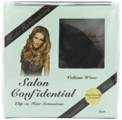 Salon Confidential Volume Wave Clip-In Hair Extensions Black