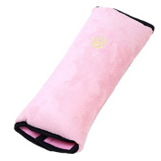 BeautyLife005 Pink Child Kids Toddler Car Auto Seat Belt Shoulder Pad Cover Head Neck Support