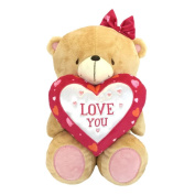 41cm Bear With Love You Heart Forever Friends Bear