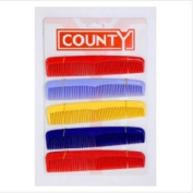 County Dressing Comb Card 10 18cm