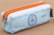 Light blue ballerina pencil case from Japan by Shinzi Katoh