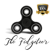 Fidgeteer Fidget Spinner EDC Toy | Anxiety and Stress Relief | Ceramic Bearings