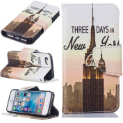 iPhone 5 Case,iPhone 5S Case,iPhone SE Case [with Free Screen Protector], Qimmortal Anti Scratch Flip Soft Silicone Back Cover Case ,Stylish Printed Cute Colourful Pattern Magnetic Detachable Premium PU Leather Wallet Embedded Flip Magnetic Detachable  ..