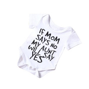 Ularma Toddler Baby Boy Girl Cotton Romper Jumpsuit Bodysuit Kids Clothes Outfit