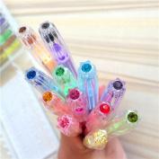 36 Coloured Gel Pens with Diamond Tip Non Bleed Ink Pen Set Highlighter Fluorescent Pen + Glitter Pen + Pastel Pen Set Smooth Anti Skip