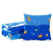 Office/Car Dual-purpose Throw Pillow Air-conditioning Siesta Summer Pillow/Quilt-A08