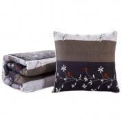 Office/Car Dual-purpose Throw Pillow Air-conditioning Siesta Summer Pillow/Quilt-A14
