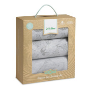 The Little Green Sheep Wild Cotton Organic Bedding Set