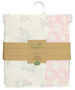 Touched by Nature Organic Fitted Crib Sheets, Bird