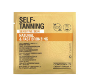Comodynes Self-Tanning Towelettes for Sensitive Skin with Vegetal DHA