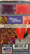 Better Homes and Gardens Brazilian Riviera Carival Duel scent Wax Cubes 70ml