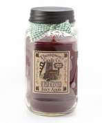 Thompson's Candles Mason Jar Candle-Juicy Apple