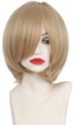 Anime Yuri!!! on Ice Plisetsky Yuri Cospaly Wigs Short Blonde Synthetic Hair Peruca COS Wig