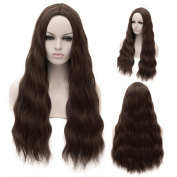 "27""-70CM Women's Long Wavy Curly Wig Heat Resistant Fashion Cosplay Synthetic Hair Wigs"