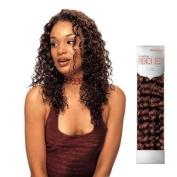 Hollywood Human Hair American French Deep Weaving (AFDW) 46cm -TT BK-WINE BLACK