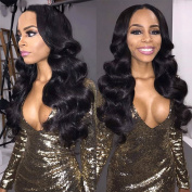 Pizazz Brazilian Body Wave with Closure 13x 4 Ear To Ear Lace Frontal Closure with 3 Bundles Unprocessed Virgin Brazilian Hair with Frontal