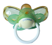 Elemed Latex Smart Pacifier, 0 To 6 Months, Cherry Shape