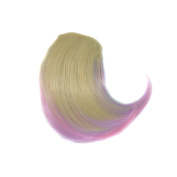 Alay & me 20cm Coloured Clip in Bang Short Straight Wig Hair for Cosplay