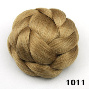 Large Hair Buns Synthetic Hair Chignon Fake Hair Bun Hairpiece Fast Bun