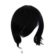 Ren - Natural Black Wig 30cm Short Flare Cut