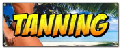 TANNING BANNER SIGN tan beauty salon spa bed signs