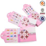 (Artlalic) 12 Pcs Colour 5ml CANNI Painting UV LED gel soak off Gel Nail Art Tips
