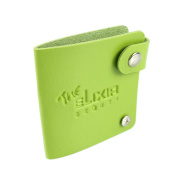 The Elixir Beauty, High Quality Nail Stamping Plate holder Synthetic Leather Organiser, Green