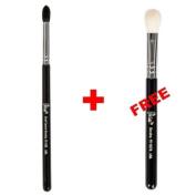 Bundle - Petal Beauty Small Tapered Blending makeup Brush + FREE $9 Value Eye Blending Brush