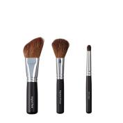 VEGAN LOVE Angled Face Tapered Cheek Brush Trio, Smudge