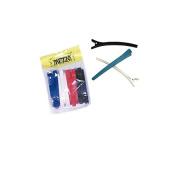 Clip separatrice Plastic 9 cm x 12 Colours