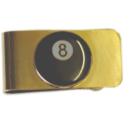 Sterling Gaming 8-Ball Money Clip