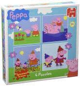 Peppa Pig 18487 Jigsaw Puzzles in a Box