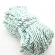 U Pick 10yds 5mm Decorative Twisted Satin Polyester Twine Cord Rope String Thread Shiny Cord Choker Thread (16