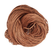 Jili Online 80 Metres 1.5mm Cotton Cords Strings Ropes For DIY Necklace Bracelet Beading Jewellery Making - Light Coffee