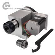 Hollow Shaft ER32 Collet CNC 4th Axis A Axis Rotary Axis CNC Dividing Head