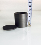 OTOOLWORLD Smelting Graphite Crucible With Cover Lab Supply 40X40MM
