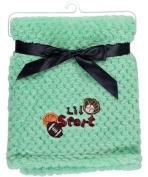 Feel Cosy . Patterned Baby Blankets, 80cm x 100cm (Lil sport