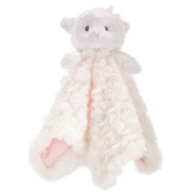 Pink & White Lamb Security Blanket
