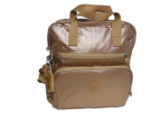 Kipling AUDRIE Baby Bag Backpack with Changing Mat - GOLDEN ROD METALLIC