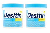 Desitin Rapid Relief Zinc Oxide Fragrance-Free Nappy Rash Cream 470ml (0.5kg)
